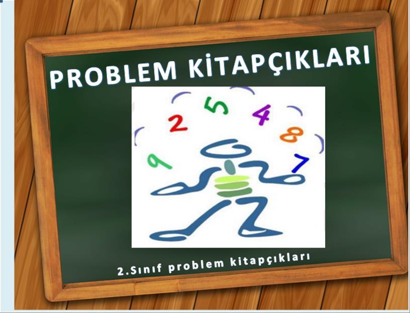 2.sınıf problem kitapçıkları