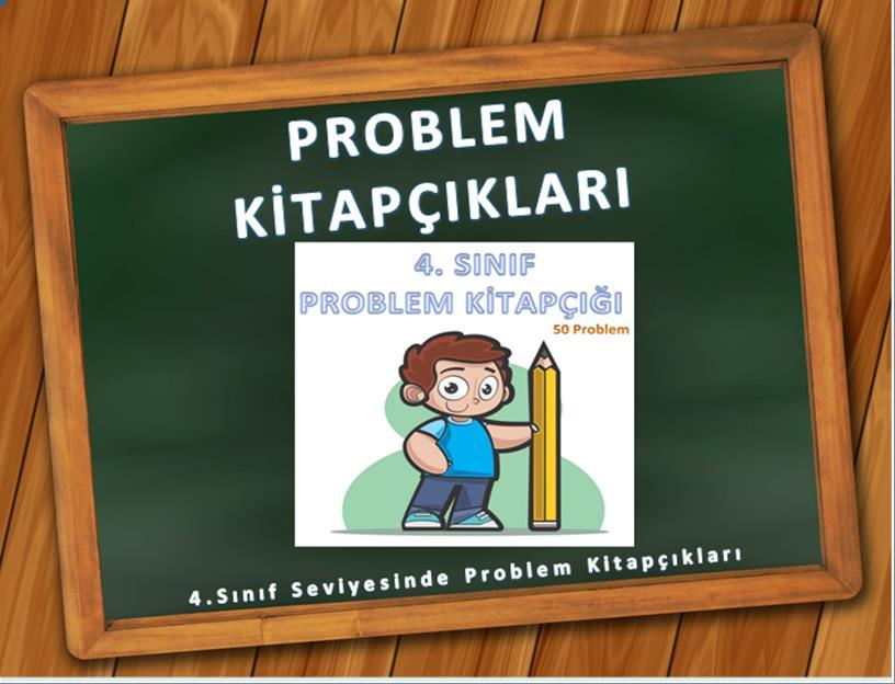 4.sınıf problem kitapçıkları