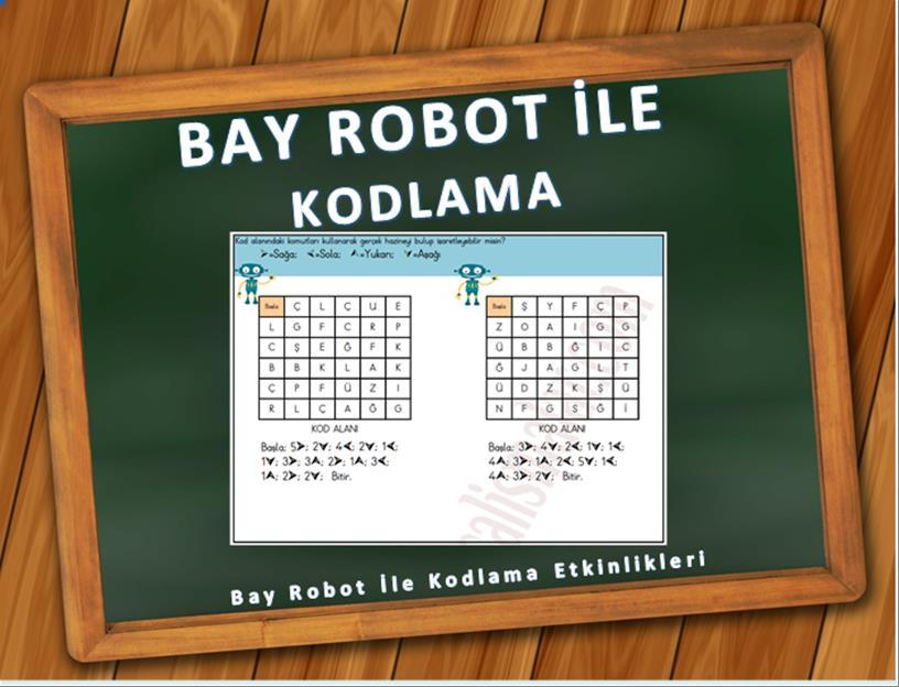 Bay Robot ile Kodlama Etkinlikleri