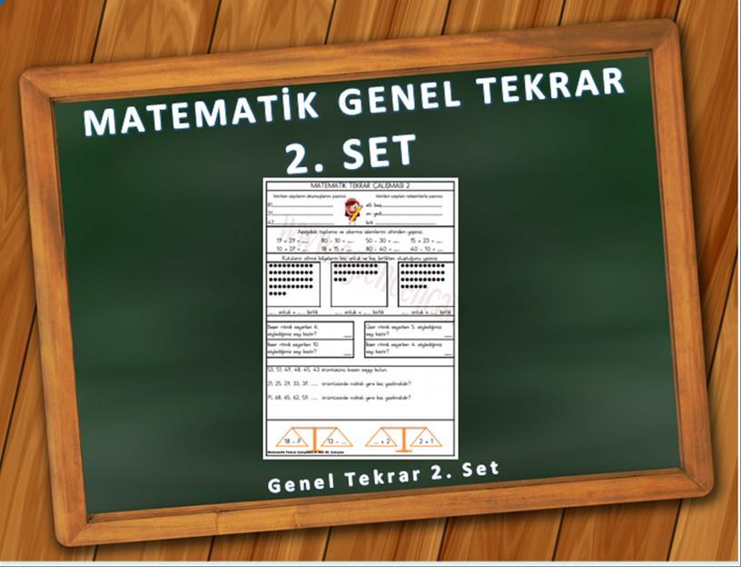 matematik genel tekrar 2. set